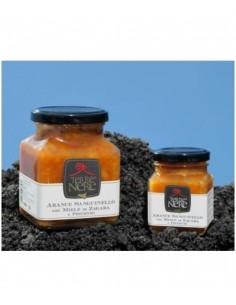 Arance sanguinello con miele di zagara e pistacchi