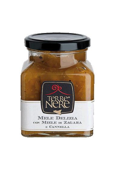 Mele delizia con miele di zagara e cannella 120g