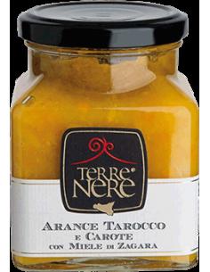 Arance tarocco e carote con miele di zagara 120g
