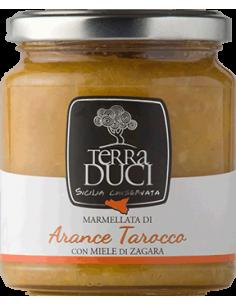 Arance tarocco con miele di zagara 350g