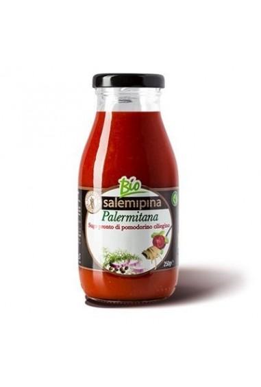 Sugo pronto di pomodoro ciliegino alla palermitana
