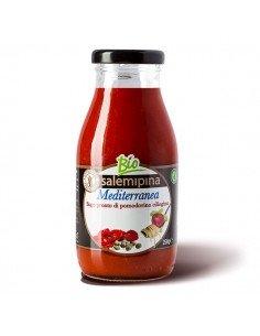 Sugo pronto di pomodoro ciliegino alla mediterranea