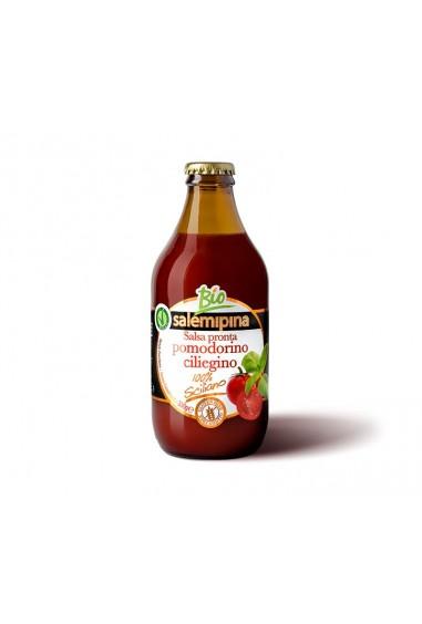 Salsa pronta di pomodoro ciliegino BIO 660g