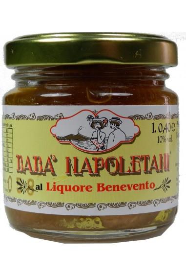 Babà napoletani al liquore di Benevento 100g
