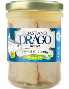 Filetti di Tonno all'olio d'oliva 300g