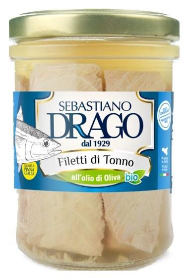 Filetti di Tonno all'olio d'oliva 300g
