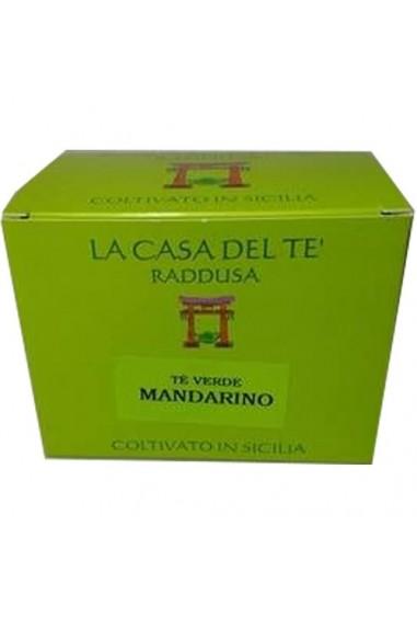 Tè verde siciliano e mandarino 50 gr