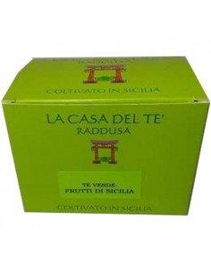 Tè verde siciliano e frutti di Sicilia 50 gr