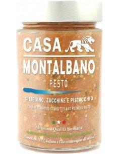 Pesto ciliegino, zucchinette e pistacchio 180g