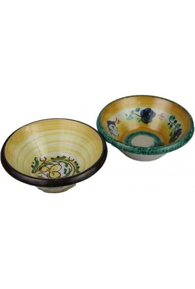 Portaolive in Ceramica di Caltagirone