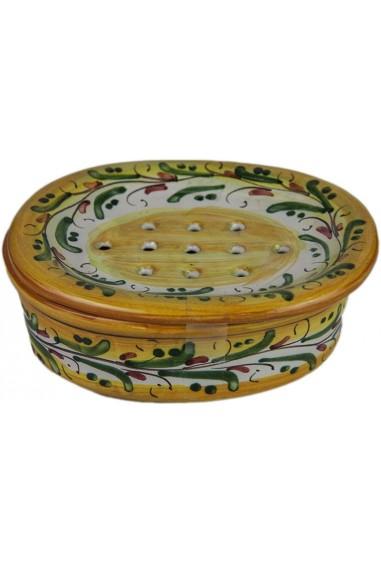 Portasapone in Ceramica di Caltagirone