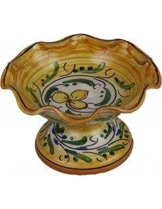 Alzatina in Ceramica di Caltagirone h 6 cm