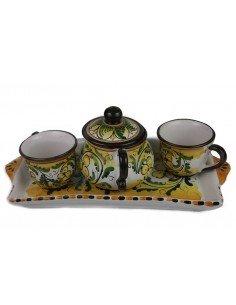 Tazzine da caffè in Ceramica di Caltagirone