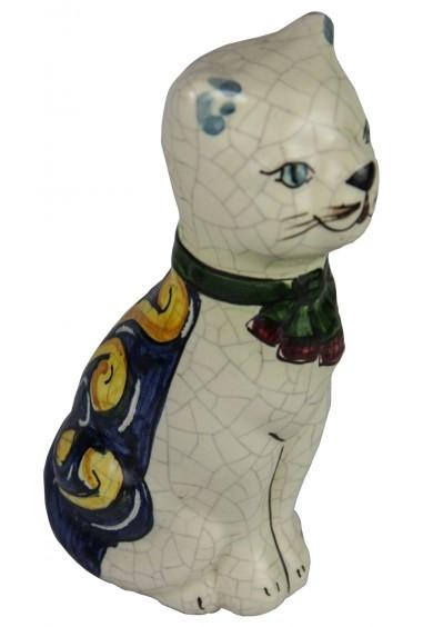 Gatto in Ceramica di Caltagirone