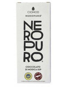 Cioccolato di Modica Nero puro 100g