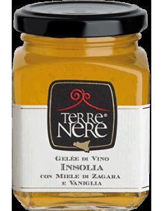 Gelée di vino Insolia con miele di zagara e vaniglia 120g