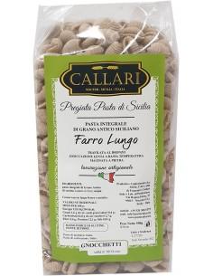 Gnocchetti di grano antico integrale Farro Lungo 500g