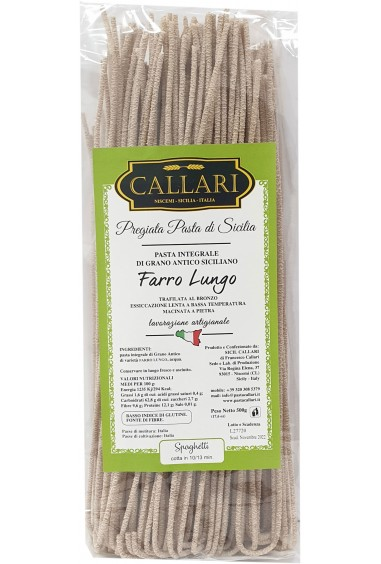 Spaghetti di grano antico integrale Farro Lungo 500g