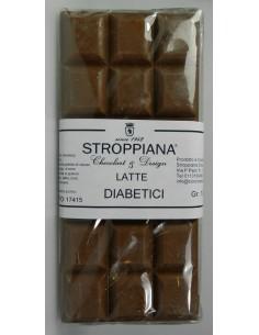 Cioccolato al latte per diabetici