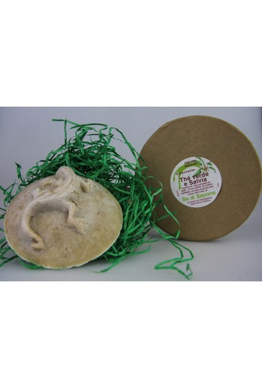 Mostarde Geco the Verde e Salvia con scatola