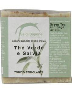 Sapone Naturale The Verde e Salvia