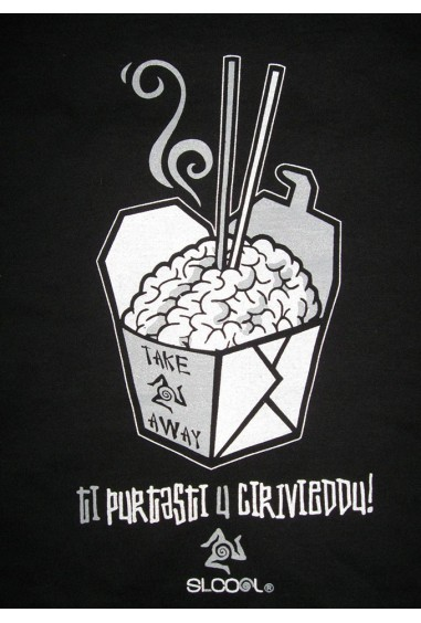 T-Shirt TI PURTASTI U CIRIVIEDDU Viola a Barca