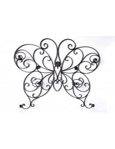 Appendiabiti Farfalla nera satinata