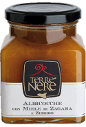 Albicocche con miele di zagara e zibibbo