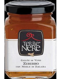 Gelée di vino Zibibbo con miele di zagara