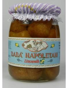 Babà napoletani al Limoncello