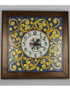 Orologio in Ceramica di Caltagirone 900g