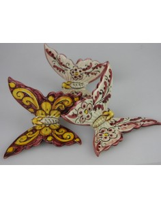 Farfalla in Ceramica di Caltagirone